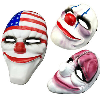 NEW!Game PAYDAY 2 The Heist Dallas Mask Cosplay Props Halloween Mask Collection