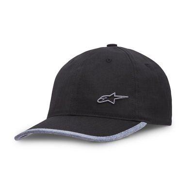 Hat Alpinestars Point Caps Curve Peak Men/'s casual wear Black