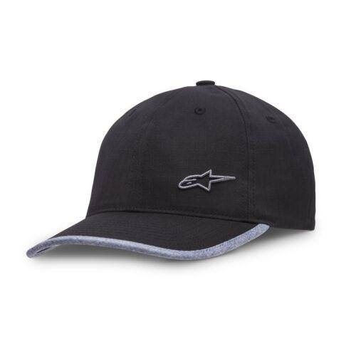 Black Alpinestars Point Caps Hat Curve Peak Men/'s casual wear