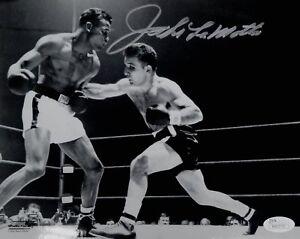 Jake-LaMotta-Hand-Signed-Autographed-8x10-Photo-Raging-Bull-JSA-La-Motta