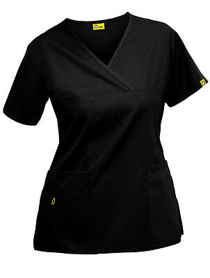 "Wink 6026 ""The Charlie"" Mock Wrap Scrub Top"