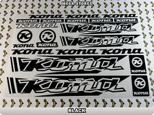 KONA Stickers Decals Bicycles Bikes Cycles Frames Forks Mountain MTB BMX 56T