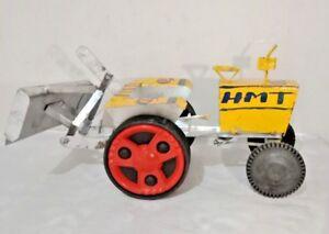 Handmade HMT Tractor Land Leveler Model Toy Show-Piece Tin