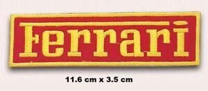 Ferrari-Carreras-Logo-Bordado-Plancha-para-Coser-Pano-Parche-Insignia-Chaqueta