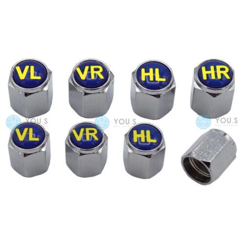 8 x you s válvula capuchón válvula tapas neumáticos marca radmerker reifenmarkier set