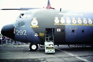 4-491-2-Lockheed-Hercules-C-1P-Royal-Air-Force-XV292-Nose-only-Kodachrome-SLIDE