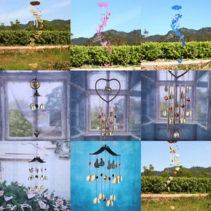 Outdoor-Garden-Yard-Home-Living-Wind-Chimes-Wind-Bells-Windchimes-Copper-Tubes