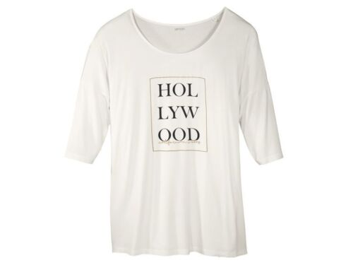 Damen Shirt Übergröße L XL XXL schwarz grau weiß