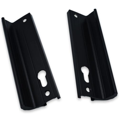 Genuine Fullex Patio Poignée de porte 52pz 170 mm vis Fix Noir 506 Series 2