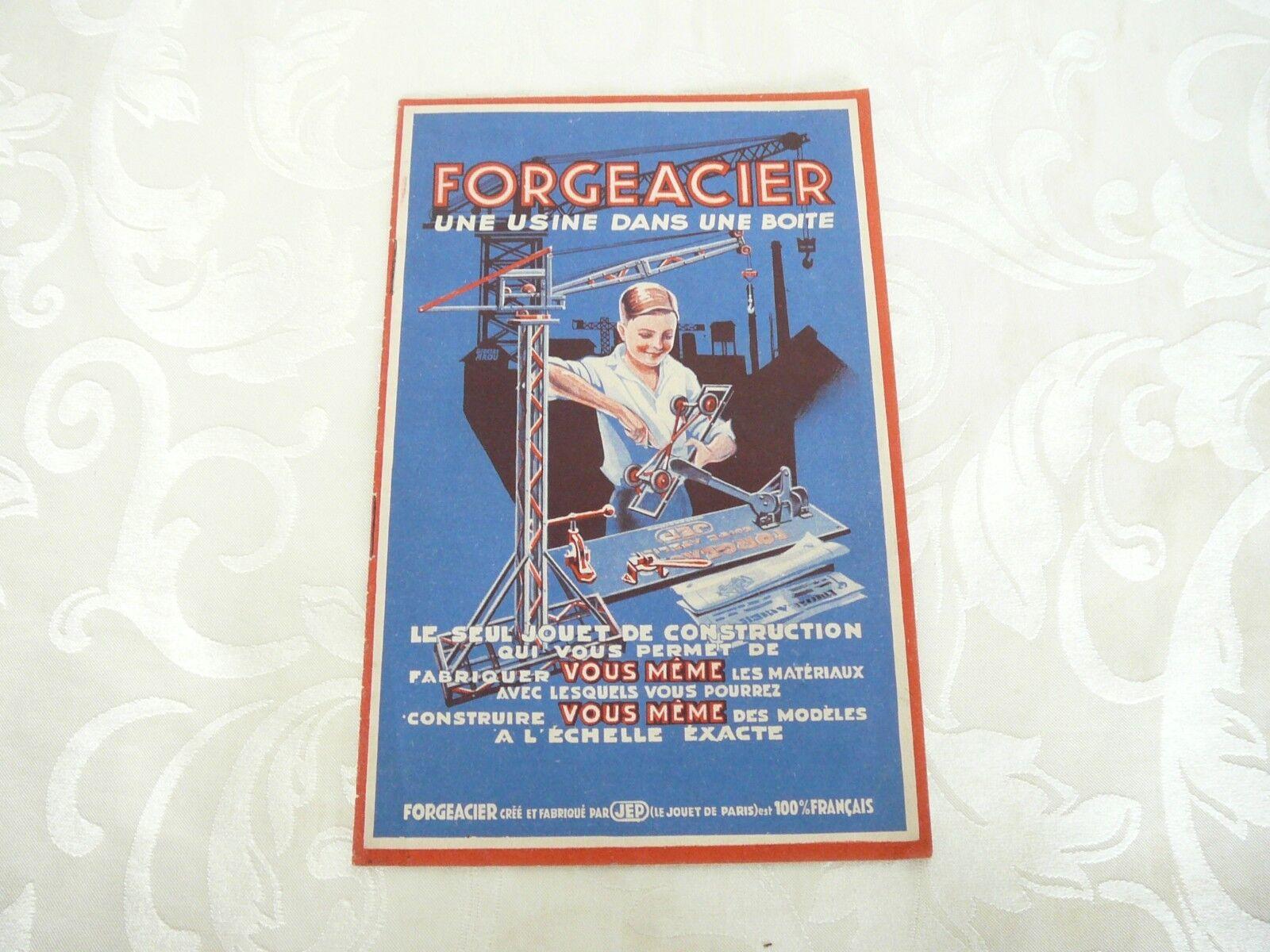 Catalogue JEP forgeacier  1934