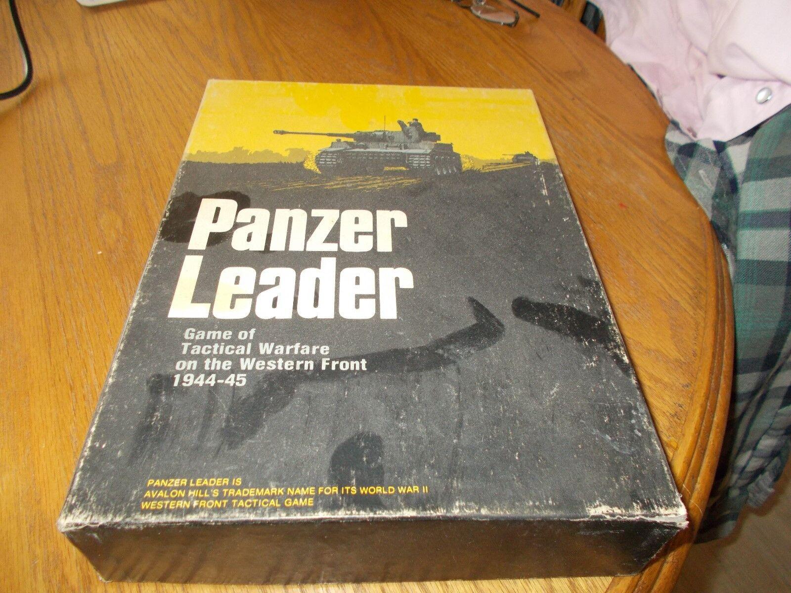 PANZER LEADER gioco OF TACTICAL WARFARE ON  THE WESTERN davanti 1944-45 libroCASE GAM  moda classica