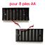 Boitier-coupleur-de-piles-AA-LR6-Accu-support-convertisseur-battery-holder-case 縮圖 5