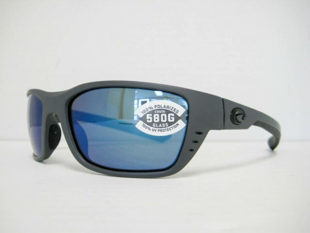 a8af400bb7840 new COSTA DEL MAR WHITETIP polarized Sunglasses GRAY BLUE 580G WTP 98 OBMGLP