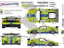 """[FFSMC Productions] Decals 1/32 Ferrari F-430 LMGT2 """"Krohn Racing"""" (LM 2007)"""