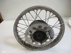 1. Yamaha Dt 250 MX 1R7 Rim Rear 1,85x18 Inch Dot 208 Rear Wheel Hinterradfel
