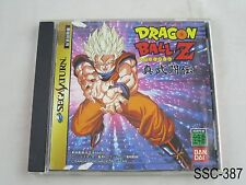 Dragonball Z Shin Butoden Sega Saturn SS Japanese Import Japan US Seller C/Fair