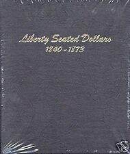 DANSCO Liberty Seated Silver Dollars 1840-1873 Album #6171