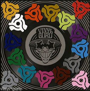 Vinyl Guru Any Colour 7 Quot 45rpm Middles Spindle Jukebox