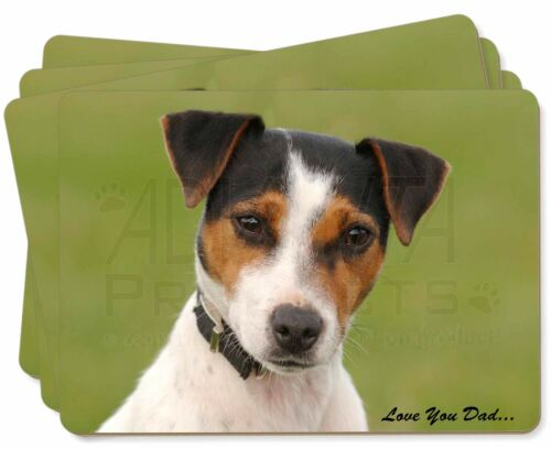 Jack Russell 'Love You Dad' Picture Placemats in Gift Box, DAD60P
