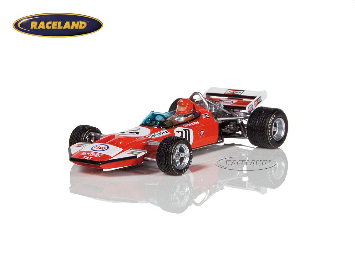 Surtees  TS7 Cosworth V8 F1 8 ° GP Holland 1971 Gijs Van Lennep, Spark 1 43, S5402  magasin fait l'achat et la vente