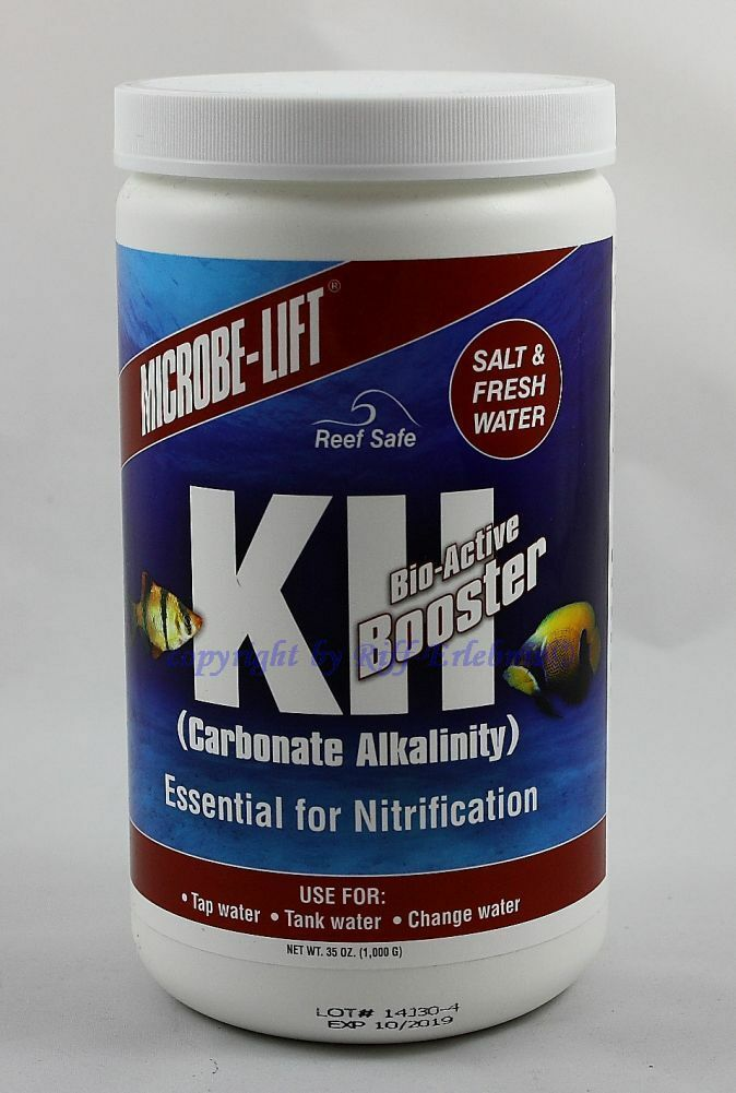Kh Bio-Active Booster 1000g Microbe-Lift Carbonate Hardness Sweet Saltwater