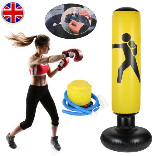 UFC Boxing Punch Bag Heavy Duty Free Standing Boxing Kick Art Indoor Training UK