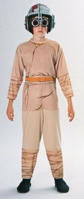 Star Wars Episode 1 Anakin Skywalker Pod Racer Halloween Constume & Kids Anakin Skywalker Costume Size 3-4 Years Small Halloween Episode ...