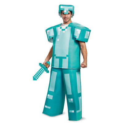 Disguise Steve Prestige Minecraft Boys Costume Multicolor Large 10-12
