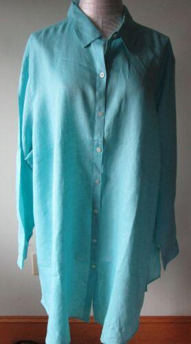 3x jill Shirt Tuniek Linnen Caribische 99 J 44846701 Nwt RFxTUSwRq