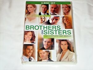 Brothers-and-Sisters-The-Complete-First-Season-Season-1-DVD-2007-6-Disc-Sealed