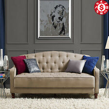 Futon Sofa Bed Convertible Tufted Guest Sleeper Modern Living Room ...