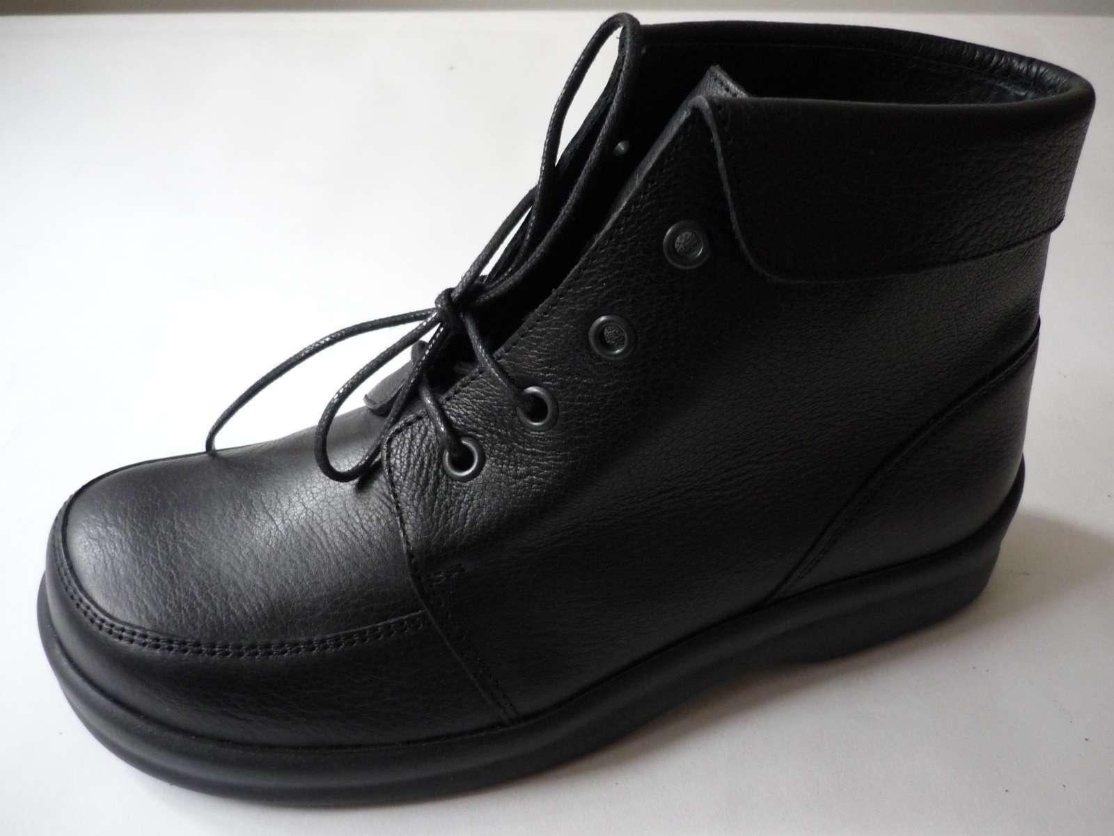 FOOTPRINTS Leder TORINO Birkenstock FB 36 Leder FOOTPRINTS Stiefel Schwarz Normal NEU 9e5392
