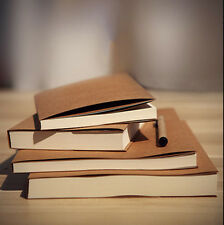 32K Kraft Cover Notebooks Cowhide Paper Notebook Blank Notepad Book Daily Memos