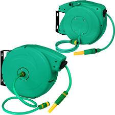 Enrouleur automatique de tuyau d'arrosage pour jardin Tuyau d'eau inclus