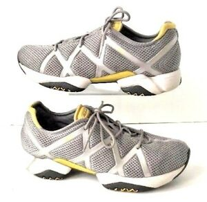 5ca0f963888f RBK Reebok Women 8.5 Sneakers Shoes Running Trainer Gray RB 601