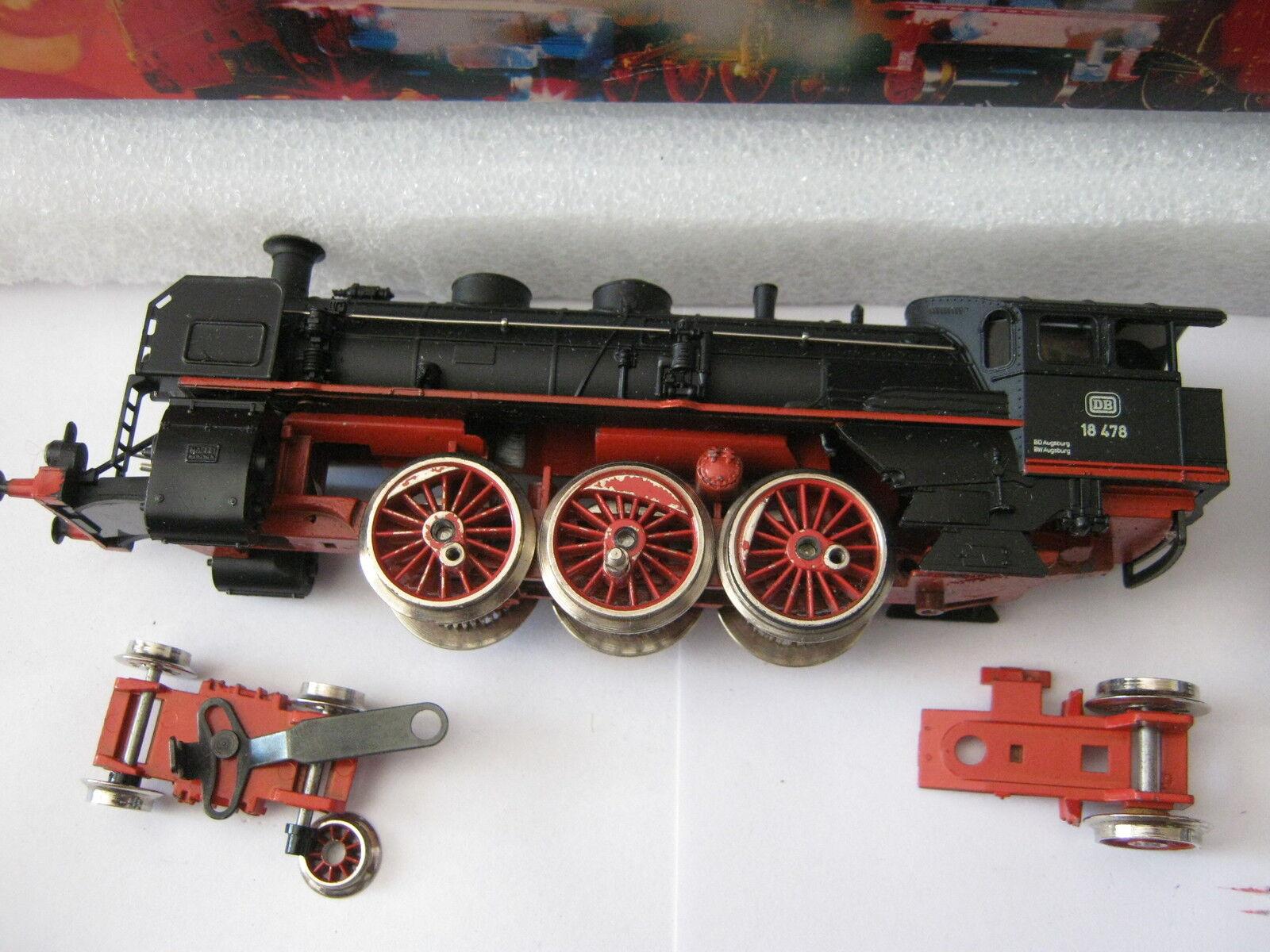 Märklin HO 3091 Dampf - Lok BR 18 478 DB (RG RJ 042-38S7 1)  | Roman