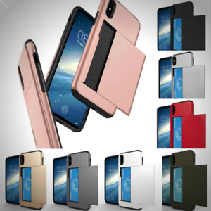 New-Holder-Card-Shockproof-Wallet-Cover-for-Apple-iPhone-X-8-6-6s-7-PLUS