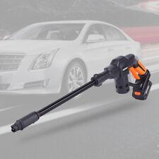 Portable Cordless Electric High Pressure Water Spraying Gun Car Washer Cleaner
