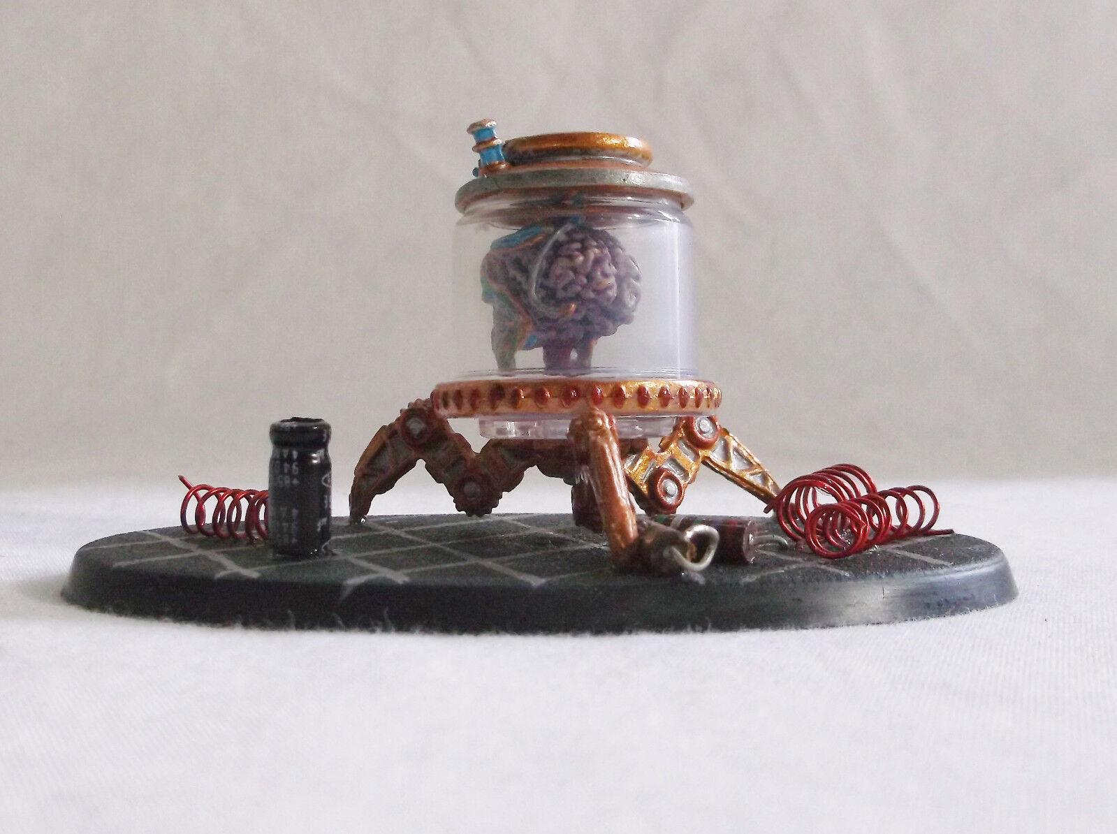 Reaper - miniatur - hirn im glas  rollenspiel d & d individuell lackiert mit pep