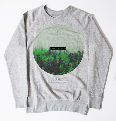 DEEP FOREST JUMPER SWEATSHIRT HYPE HIPSTER SWAG MENS URBAN FASHION OUTFITTERS