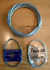 3m GAINE GRISE + CABLE FREIN AV + CABLE AR (Neuf) SOLEX  MOBYLETTE