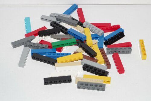 Authentic LEGO Bulk Lot of 50 Random 1x6 Bricks from Huge Inventory STEM READ