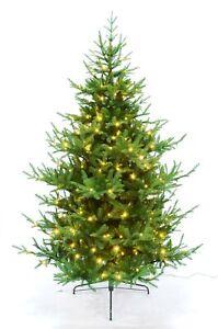 Künstlicher Christbaum Weihnachtsbaum Tannenbaum mit Beleuchtung LED 240cm