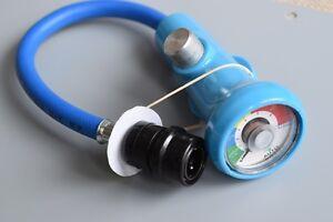 Kfz-climatisation-basse-pression-r134a-Anschlus-5-16-manometre-refrigerant-Diagnostic