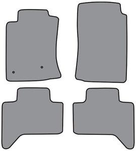 2pc Cutpile Carpet Logo Floor Mat for 2005-2009 Toyota Tacoma