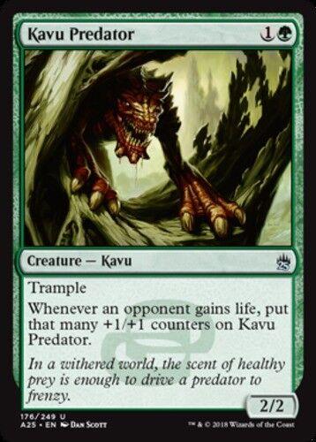 English x4 Kavu Predator MTG Masters 25 U M//NM