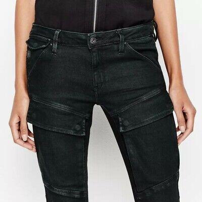 Details zu G Star Jeans 5620 Custom Slim Tapered WMN, Black, W30,32 L32