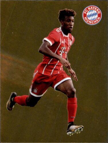 Panini FC Bayern München 2017//18 Kingsley Coman Sticker 133