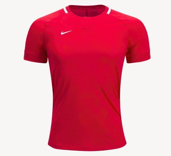bf5d6dcec4c8 Nike Challenge II Jersey Soccer Men s Medium Dri-fit Red White Shirt 894035  for sale online