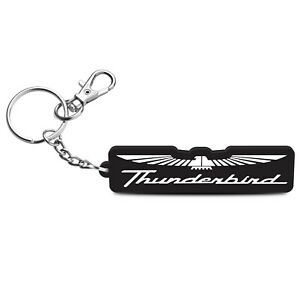 iPick Image for Ford Thunderbird Custom Laser Cut with UV Full-Color Printing Acrylic Charm Key Chain